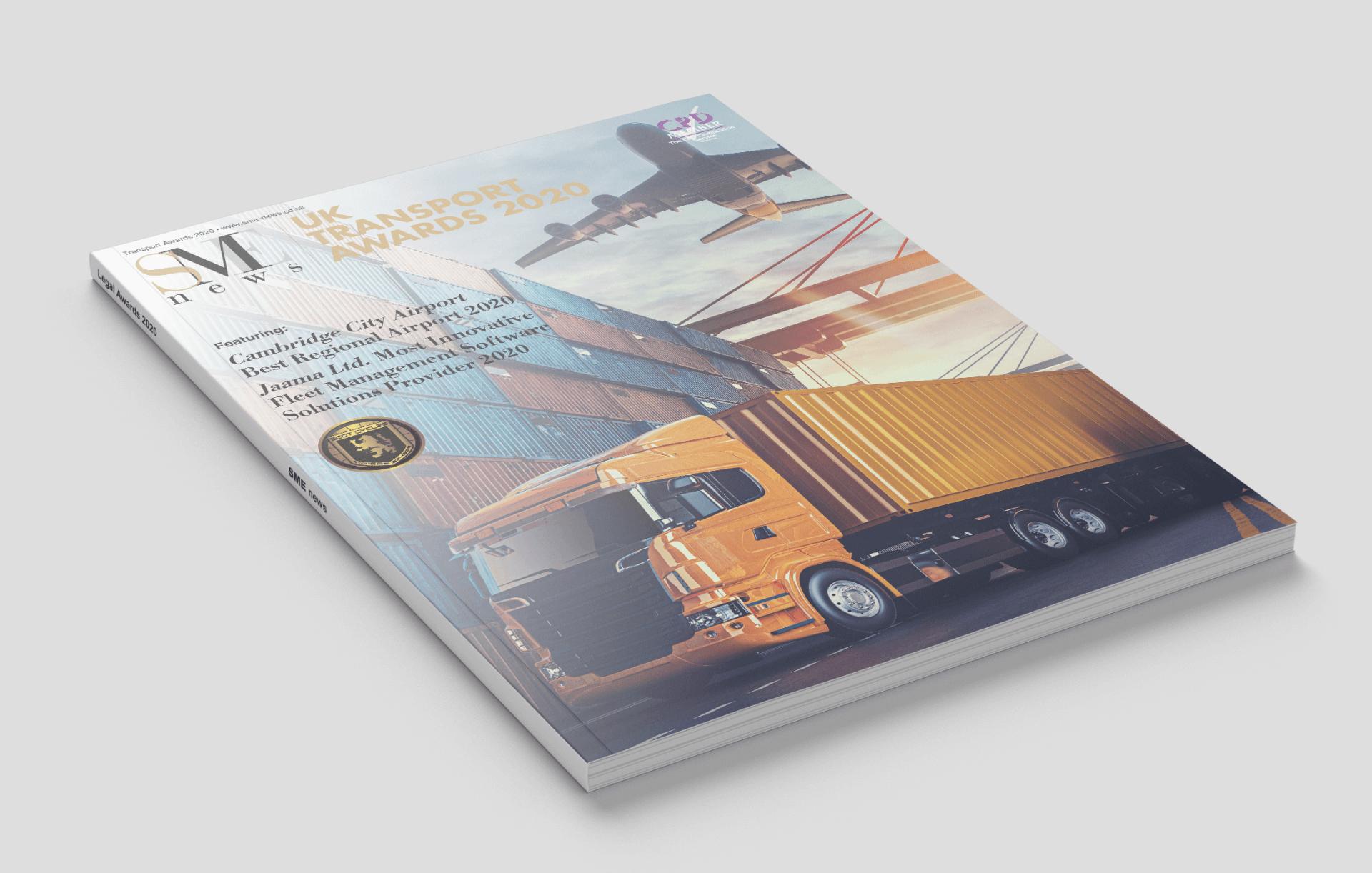 UK Transport Awards 2020 cover