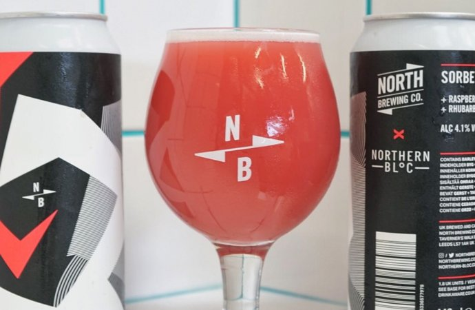 Introducing Vegan Sorbet Sour (Beer) – an exciting new collaboration between North Brewing Co and Northern Bloc Ice Cream