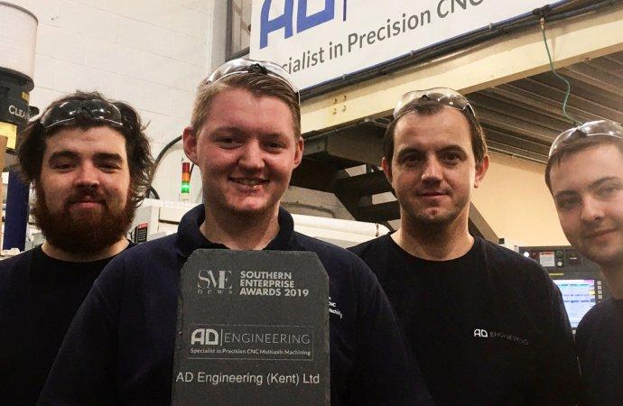 AD Engineering (Kent) Ltd. Recognised Leaders in Precision Engineering 2019
