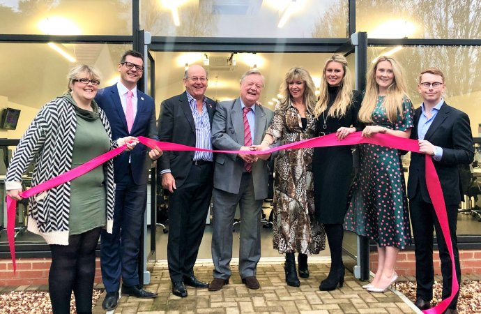 Ken Clarke opens brand agency's new £1 million media hub