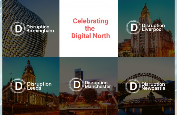 Disruption North Programme Opens To Celebrate Innovative Companies And Support Digital And Technological Talent In The North Of England